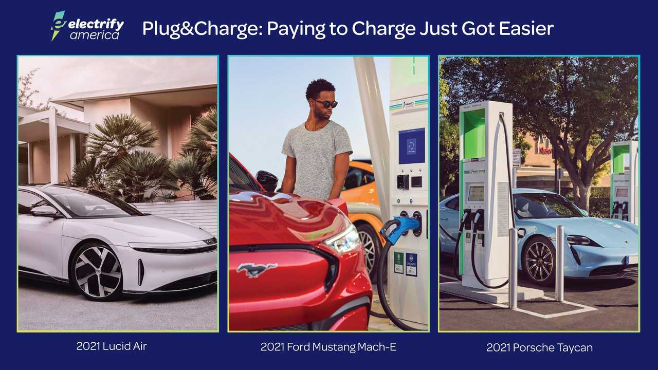 Electrify America - Plug&Charge charging feature