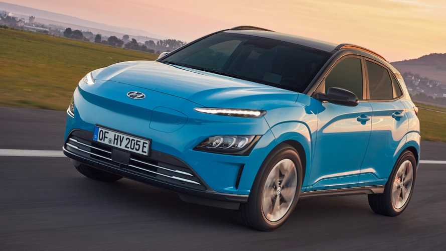 Hyundai Kona Electric restyling (2021)