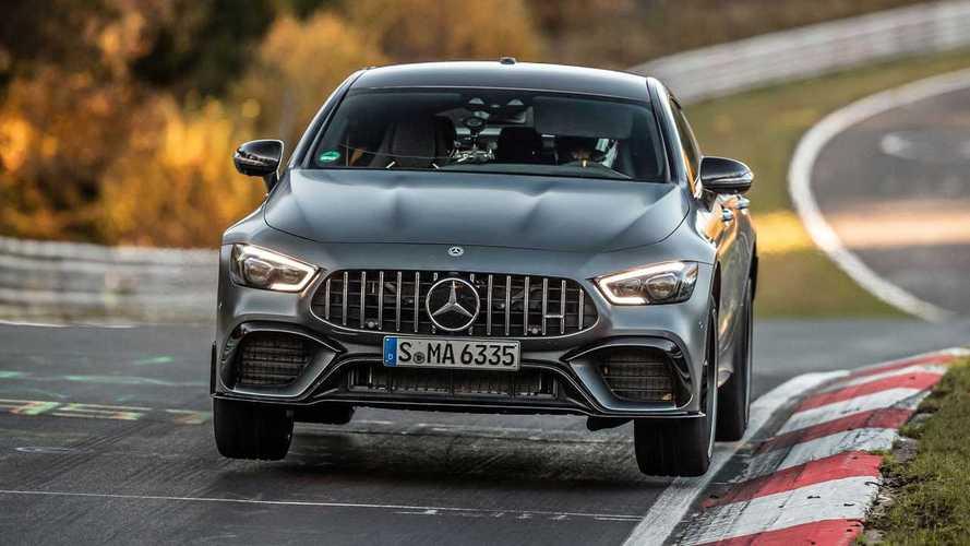 El Mercedes-AMG GT 4 puertas 63 S bate su propio récord en Nürburgring