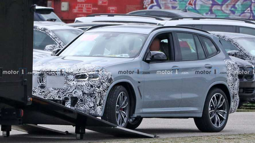 BMW X3 Spy Shots