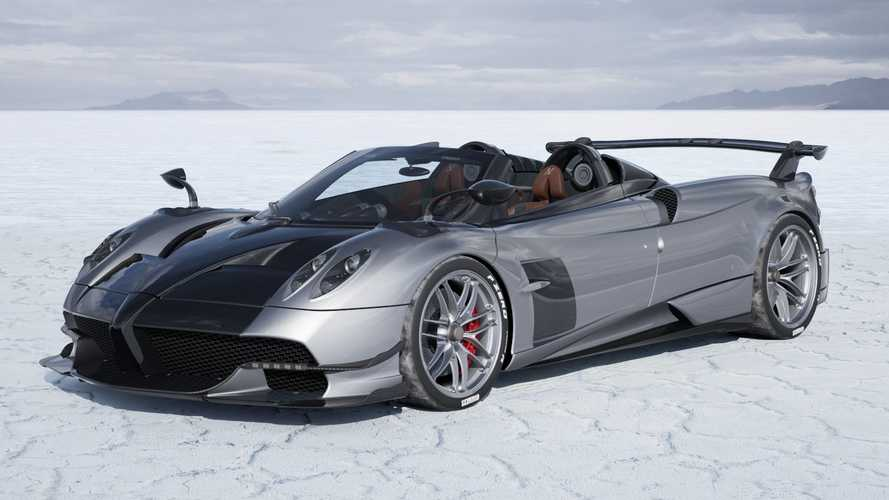 Pagani Huayra BC Roadster Visualizer
