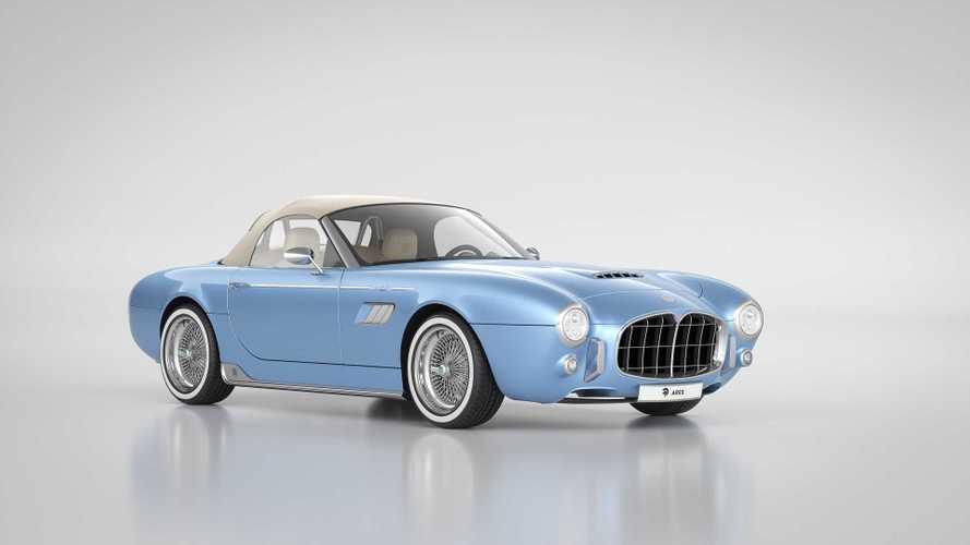 Представлен «хрустальный» родстер в стиле Maserati 1950-x