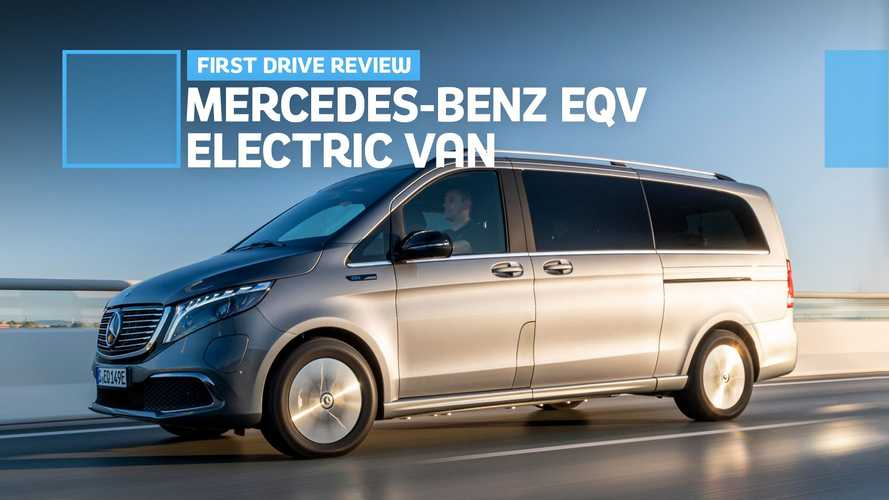 Mercedes-Benz EQV Electric Van First Drive: What Tesla Lacks, M-B Offers