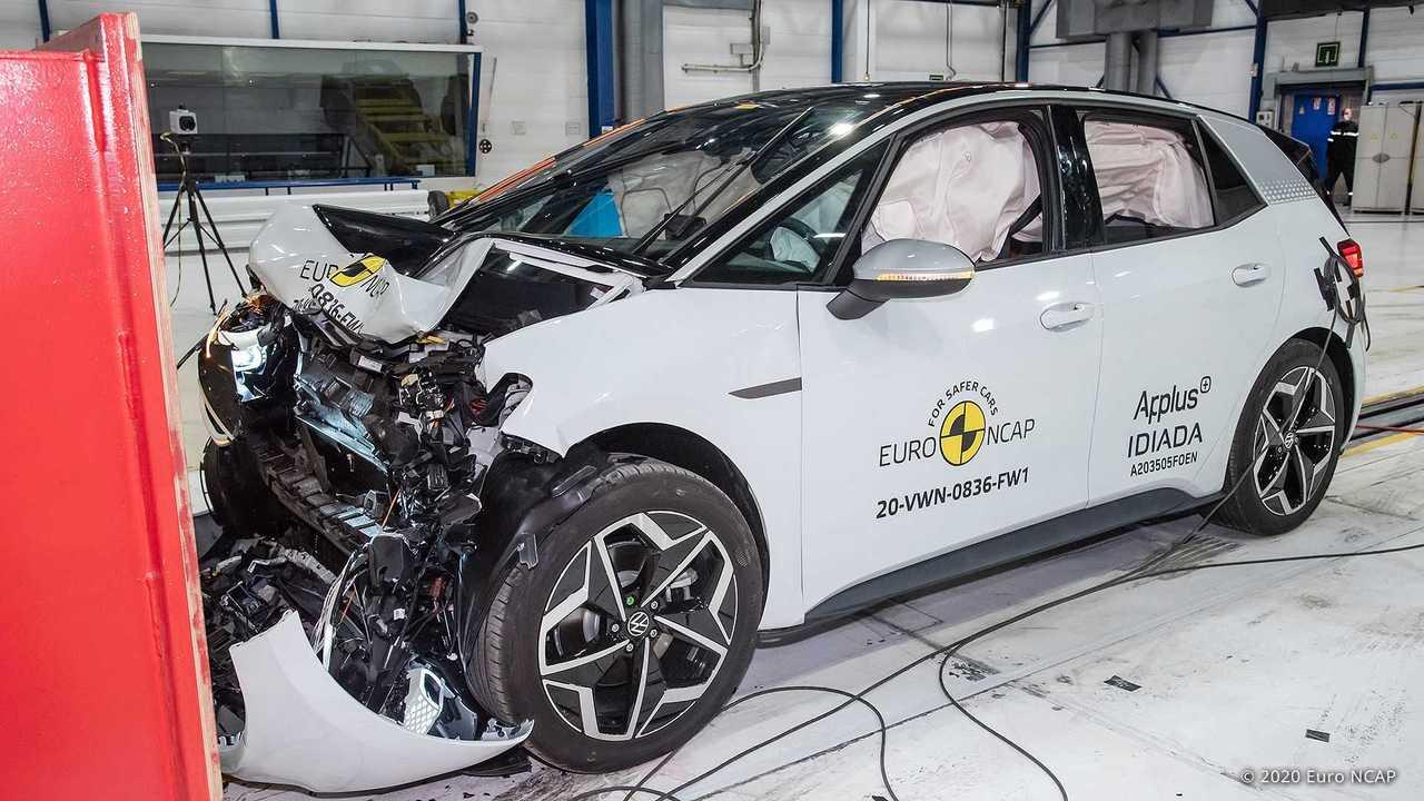 Bestnote für den Volkswagen ID.3: Fünf Sterne im Euro NCAP-Test
