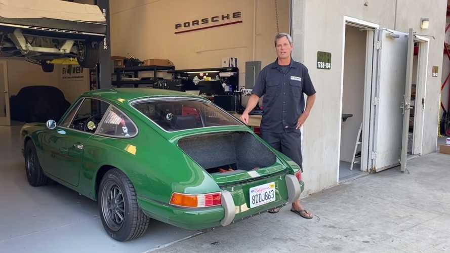 Megörökölte a Tesla villanymotorját ez az 1968-as Porsche 911