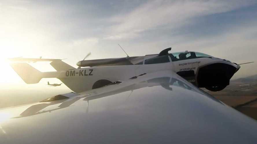 Klein-Vision AirCar: Ein Flugauto, das wirklich fliegt
