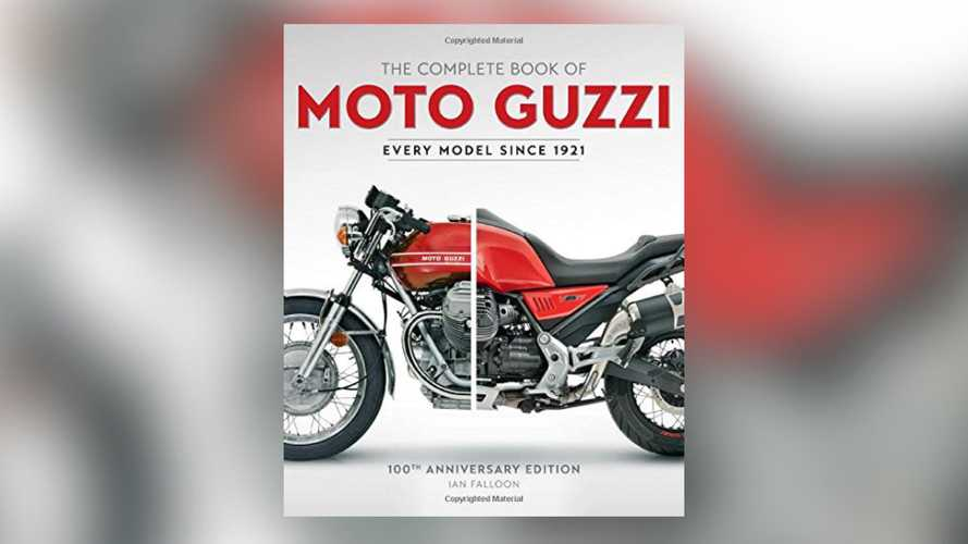 Get Ready To Nerd Out With This 100th Anniversary Moto Guzzi Book
