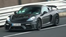 porsche cayman gt4 rs video