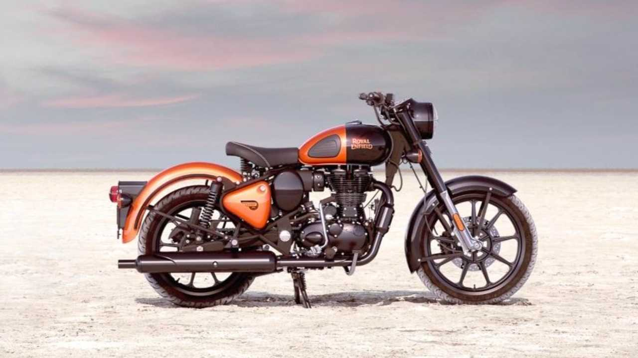 2021 Royal Enfield Classic 350 - Orange Ember