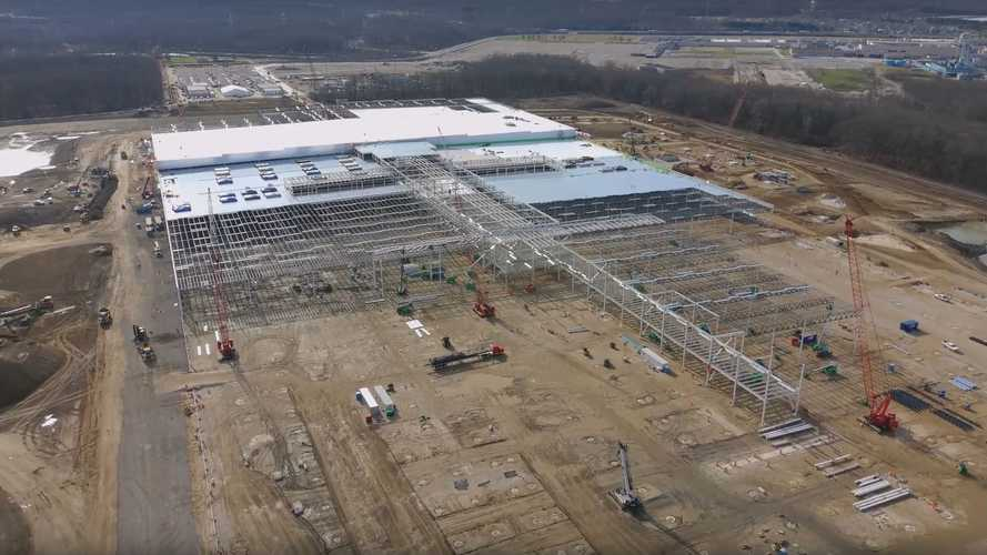 Ultium Cells Battery Plant Construction Progress: November 2020