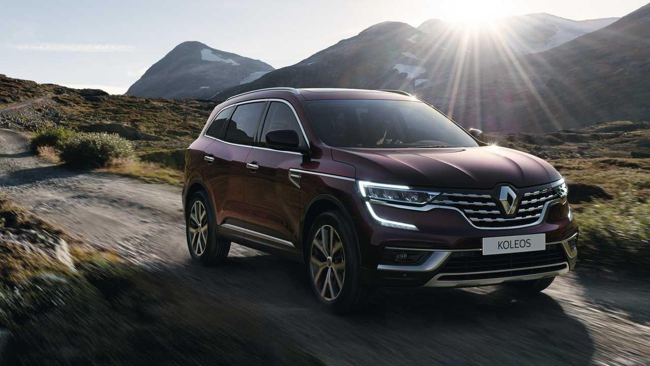 Renault Koleos model year 2021