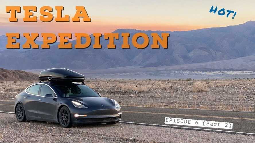 Watch Tesla Model 3 Tackle Death Valley & Moab: High Heat & Tough Terrain