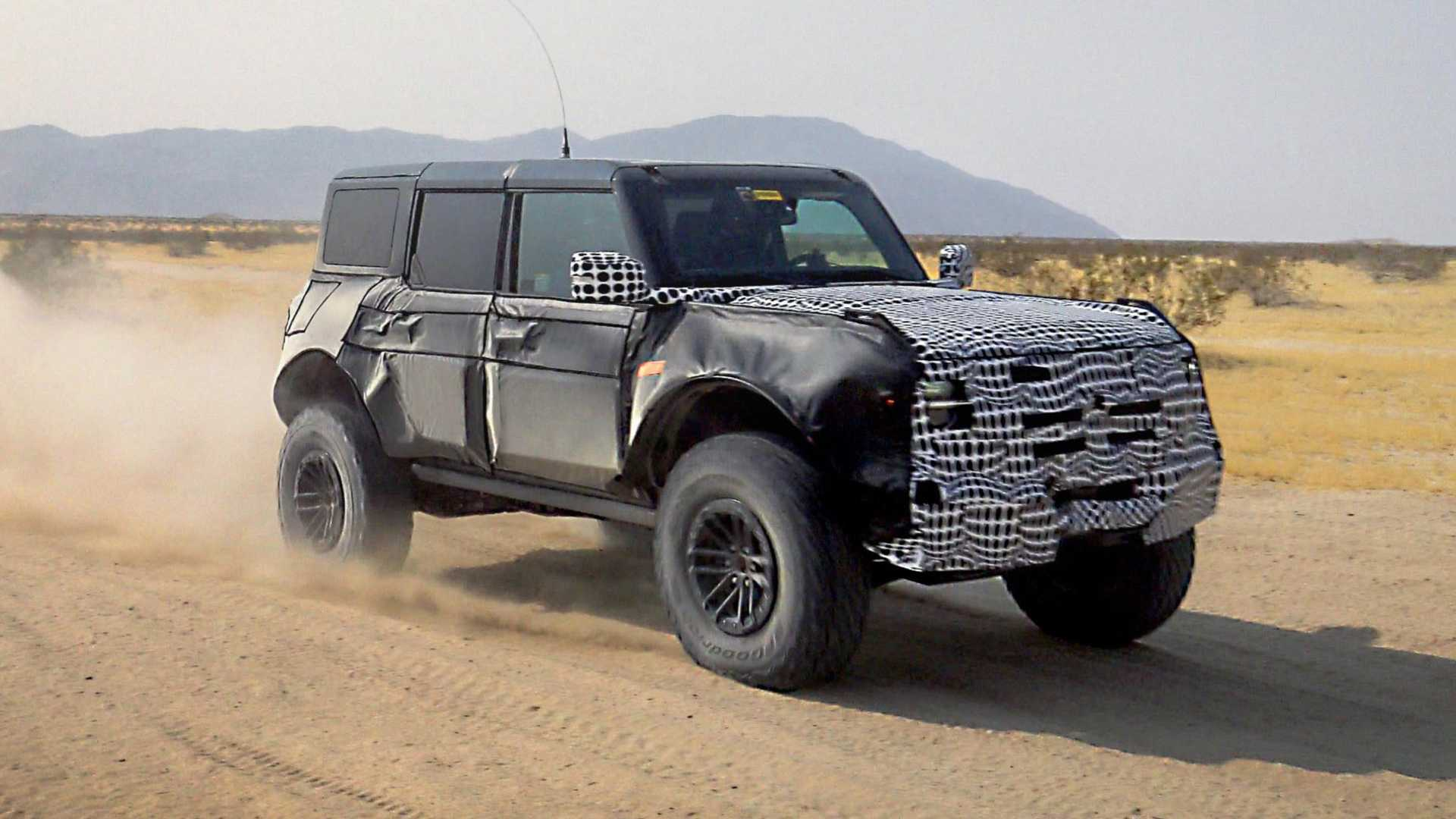 Ford Bronco Warthog Teaser Photo Shows 37-Inch 'Hooves'