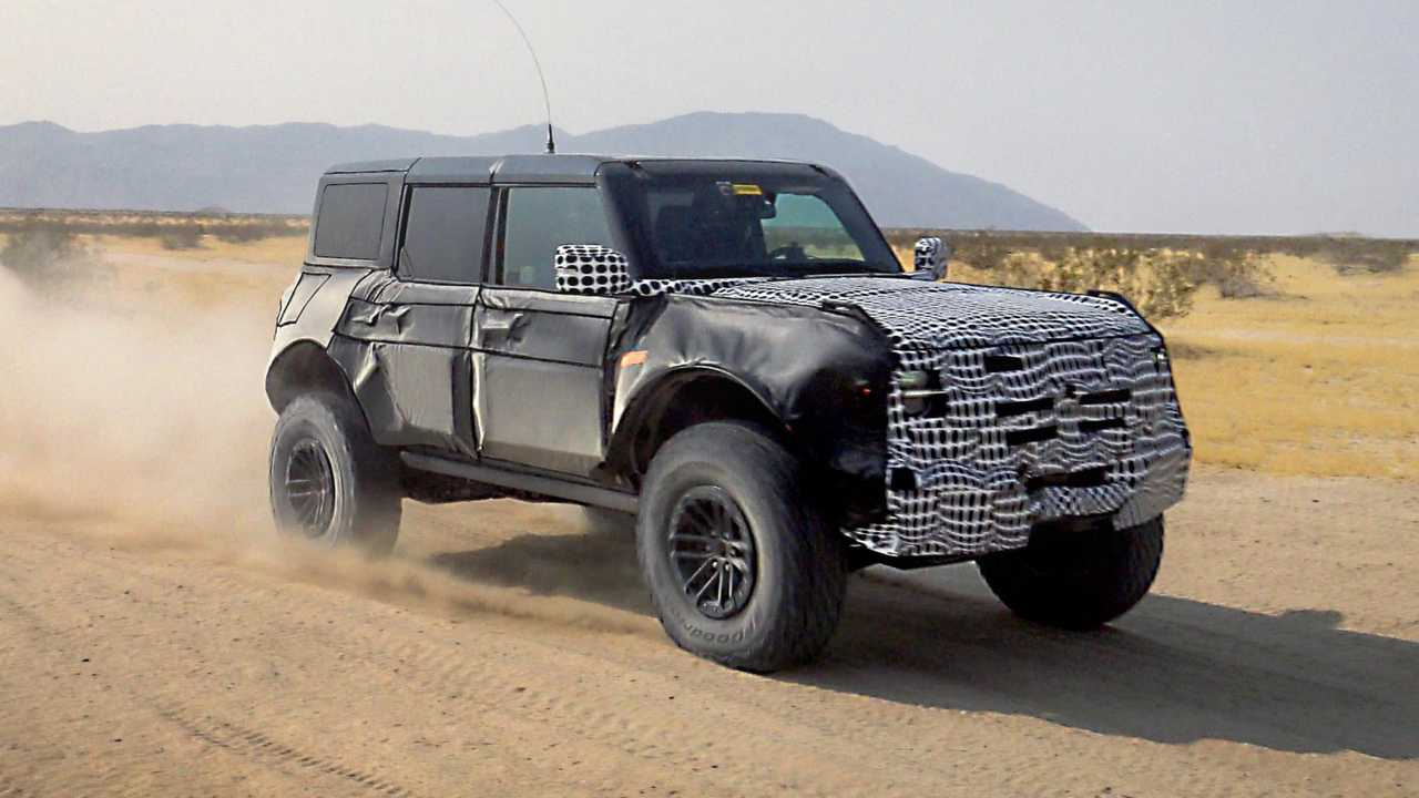 Ford Bronco Warthog Teaser Görüntüler