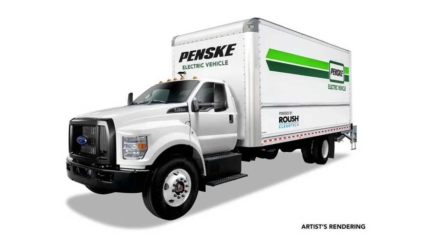 Roush CleanTech To Provide Electric Ford F-650 To Penske Truck Leasing