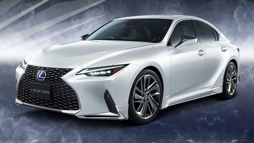 El Lexus IS estrena en Japón componentes de TRD y Modellista