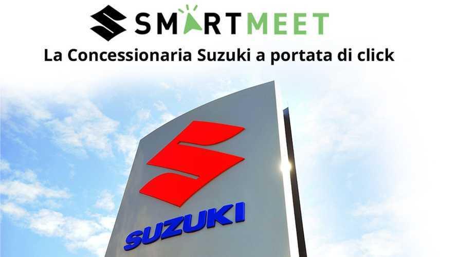 Suzuki Smart Meet, appuntamento online con i concessionari Suzuki Moto