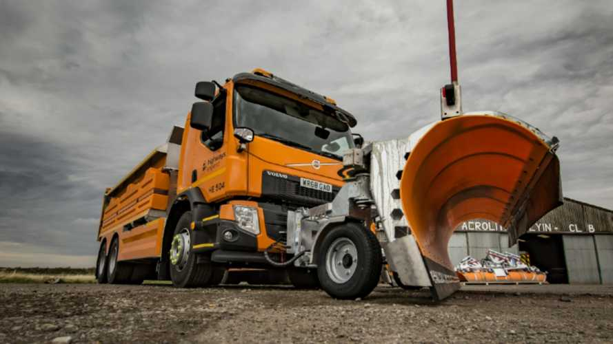 English motorways get 93 new gritters in time for winter chill