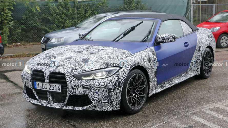BMW M4 Cabrio Erlkönig: Ja, es hat auch diese Front!