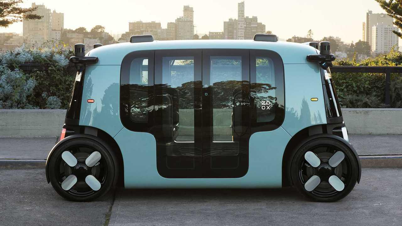 Zoox Autonomous Vehicle - Laterale in esterno
