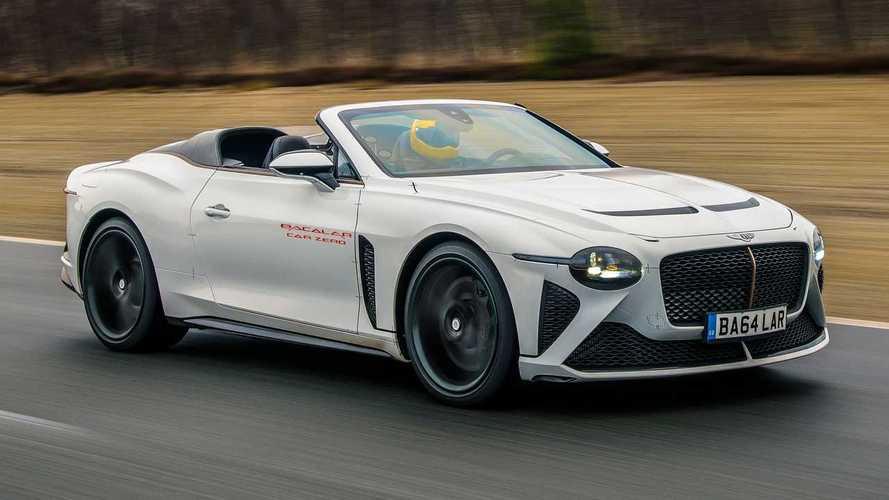 Первый за 90 лет родстер Bentley вывели на дорожные тесты