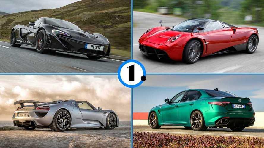 Антикрылья, сплиттеры и шторки: 10 машин с активной аэродинамикой