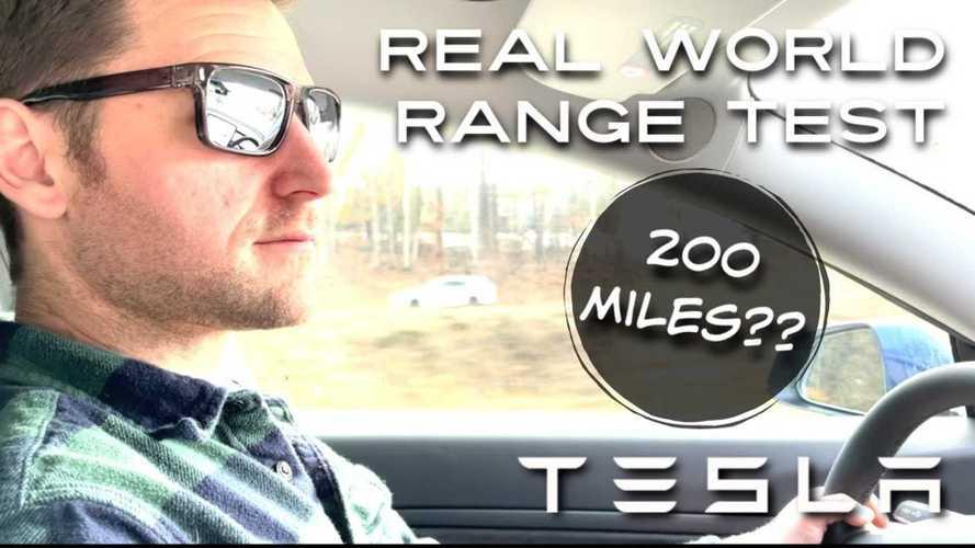 2021 Tesla Model 3 Standard Range Plus: Realistic Cold-Weather Range Test