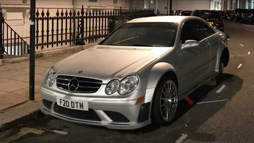 Vídeo: un Mercedes-Benz CLK 63 AMG Black Series, víctima de un robo