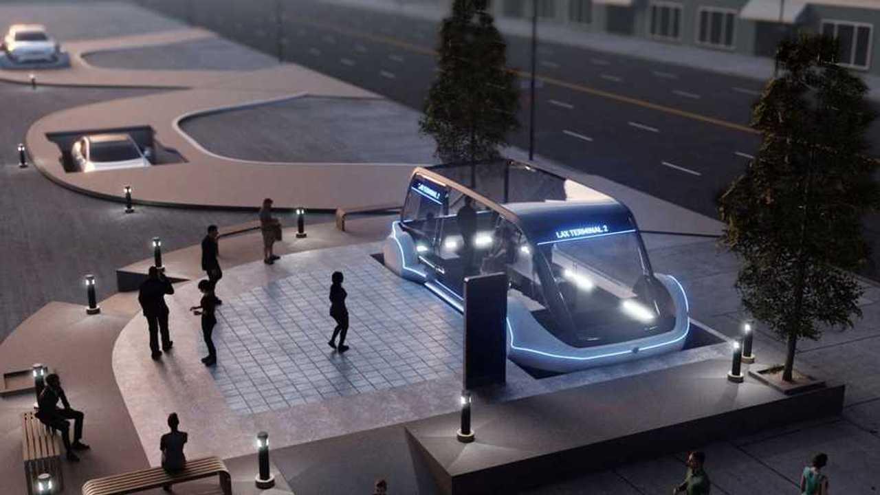 Elon Musk pensa agli autobus da impiegare nei Loop Tunnel