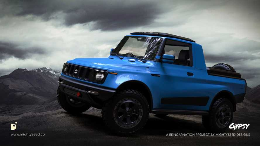 Nos imaginamos el futuro Suzuki pick-up para India