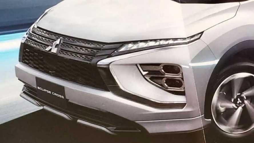 Novo Mitsubishi Eclipse Cross - Fotos vazadas