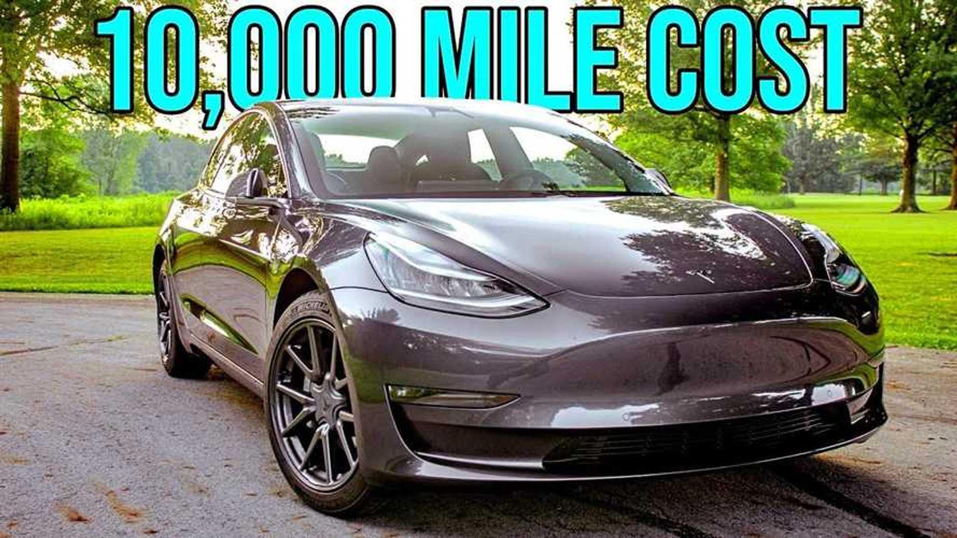 Tesla Model 3 In-Depth 10,000-Mile Cost-Of-Ownership Analysis  image