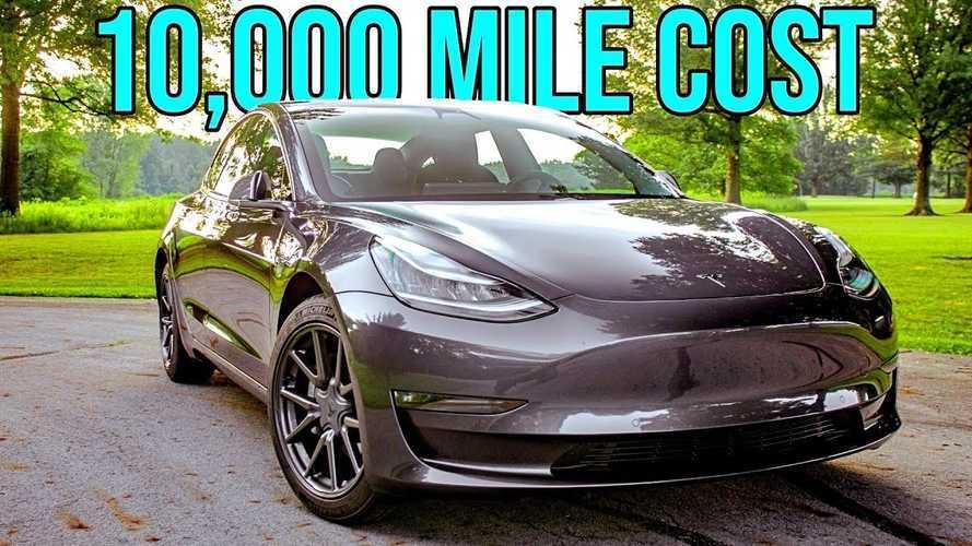 Tesla Model 3 In-Depth 10,000-Mile Cost-Of-Ownership Analysis