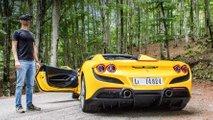 Ferrari F8 Spider im Videotest: Eine Änderung des Blickwinkels