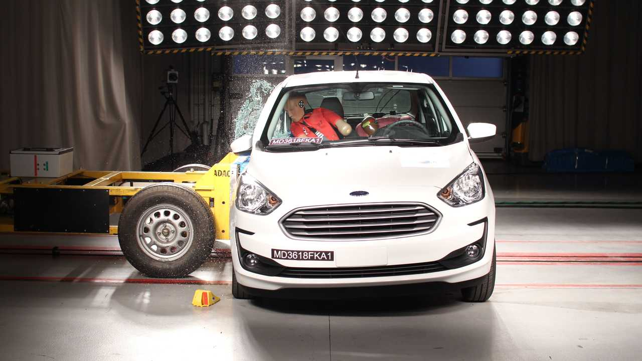 Ford Ka 2020 - Teste de colisão
