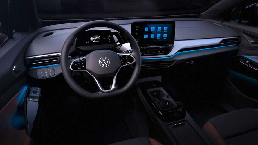 VW ID.4 Interior Teased Before September Full Debut