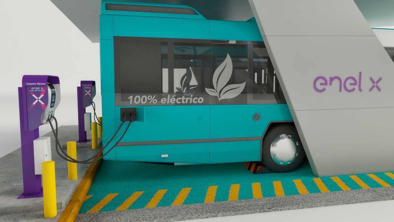 Autobus elettrici Enel X