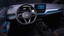 VW ID.4: Teaserbilder vom Cockpit