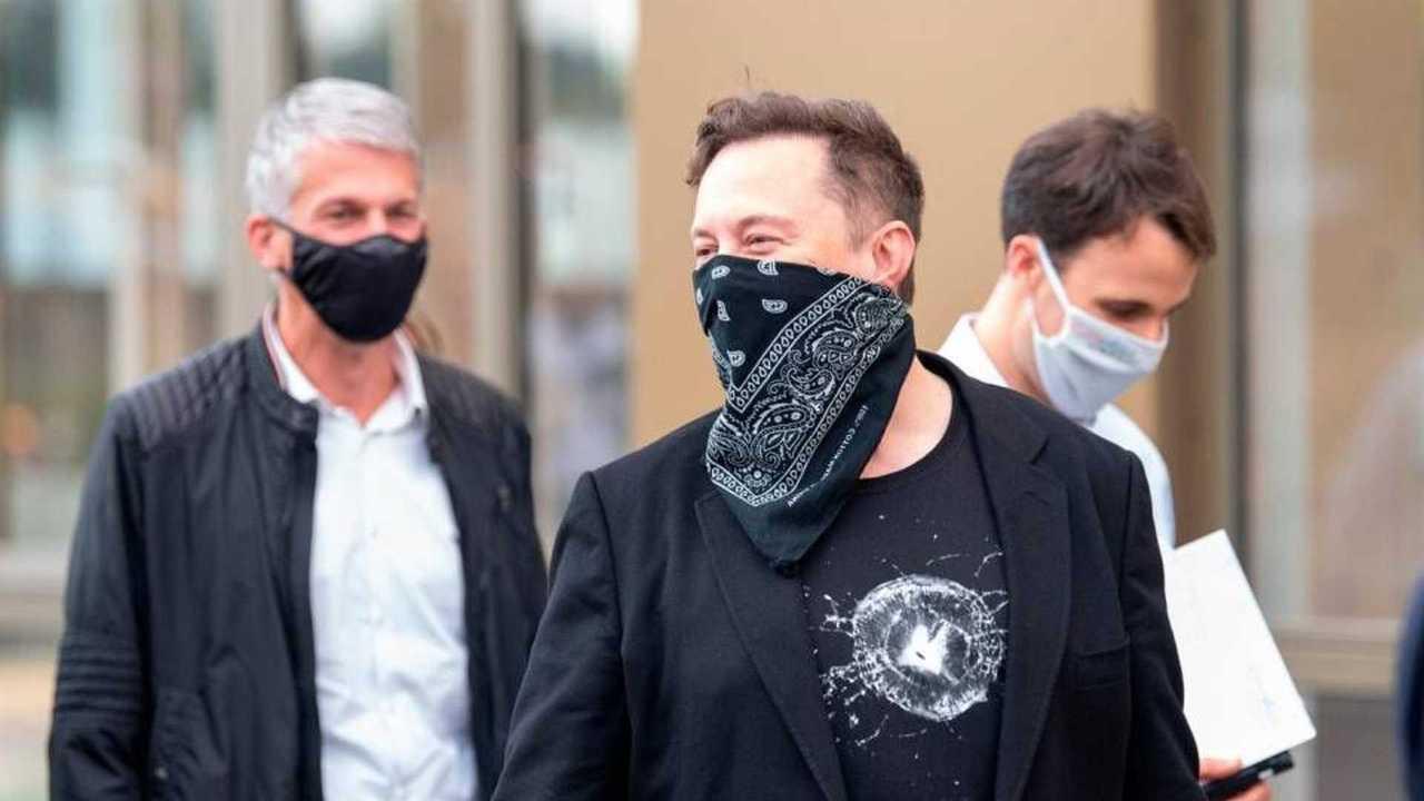 Elon Musk in visita in Germania