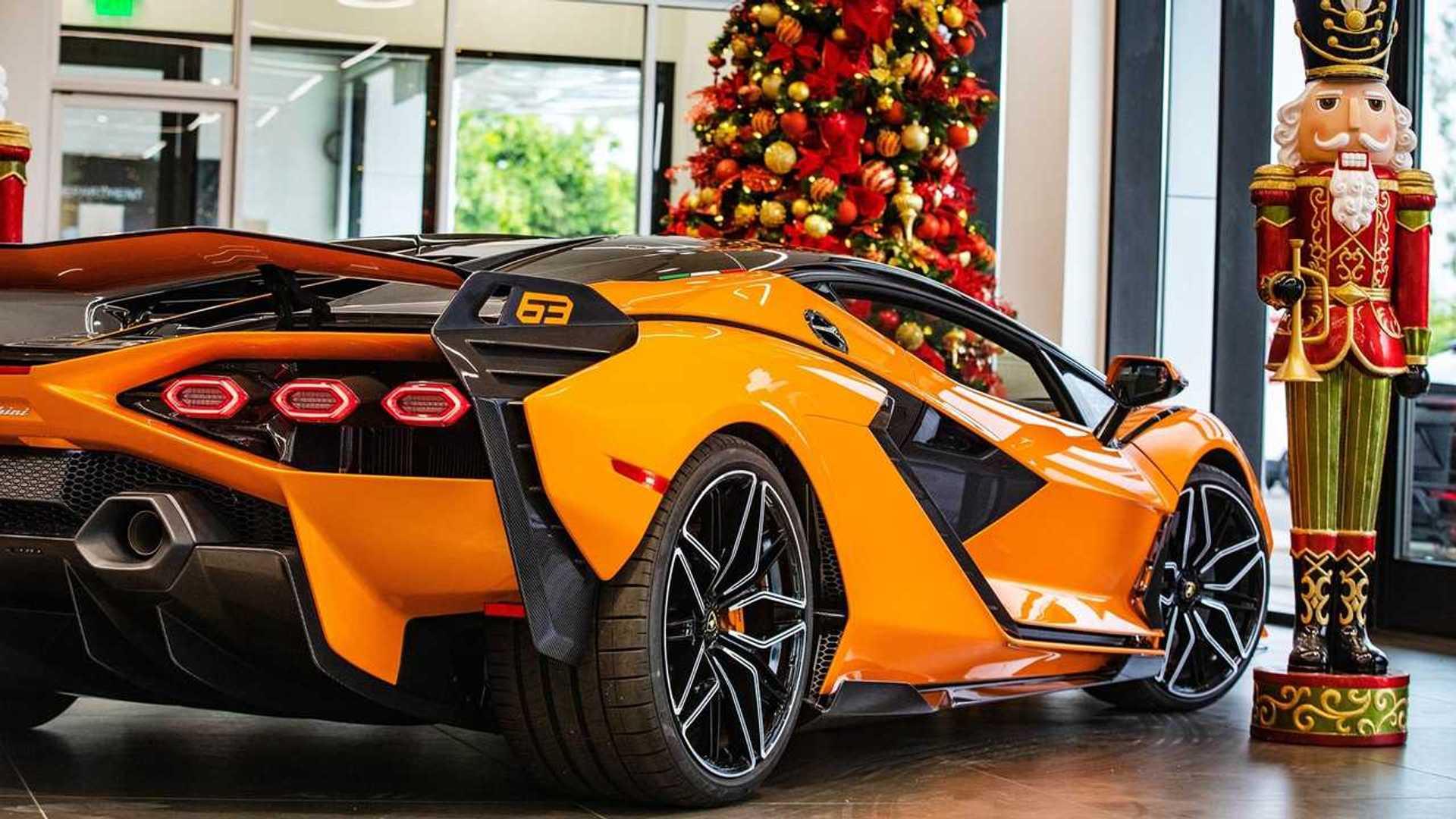 First Lamborghini Sian North America