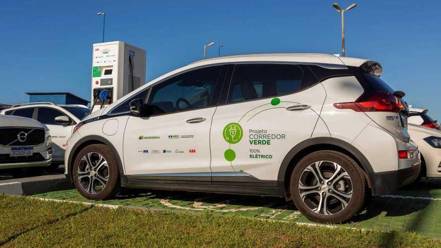 Litoral do Nordeste ganha rede de recarga de 1.000 km para carros elétricos