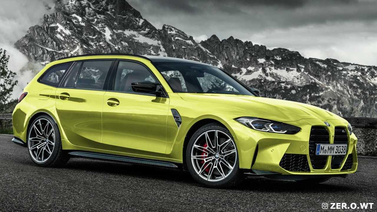 BMW M3 Touring - Projeções