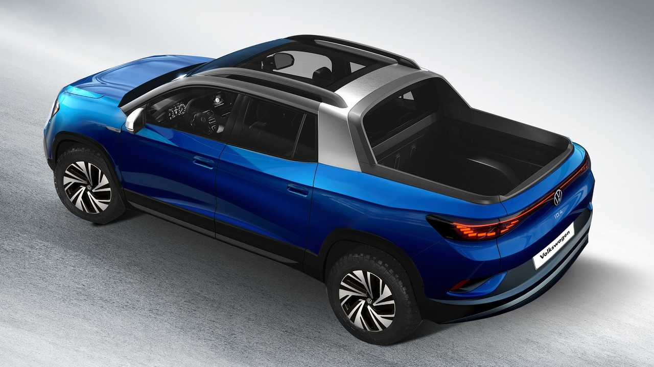 Volkswagen ID.4 alternatif gövde tipleri render