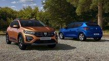2021 Dacia Sandero, Sandero Stepway, and Logan