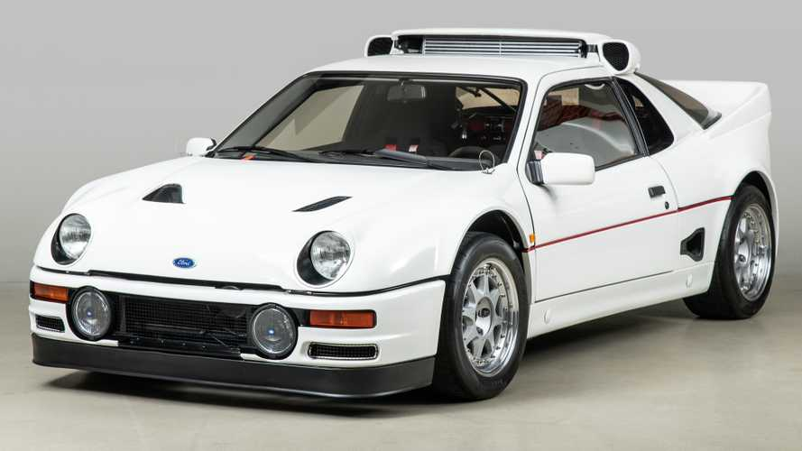 Rare 1986 Ford RS200 Evolution With Modern Updates Up For Sale