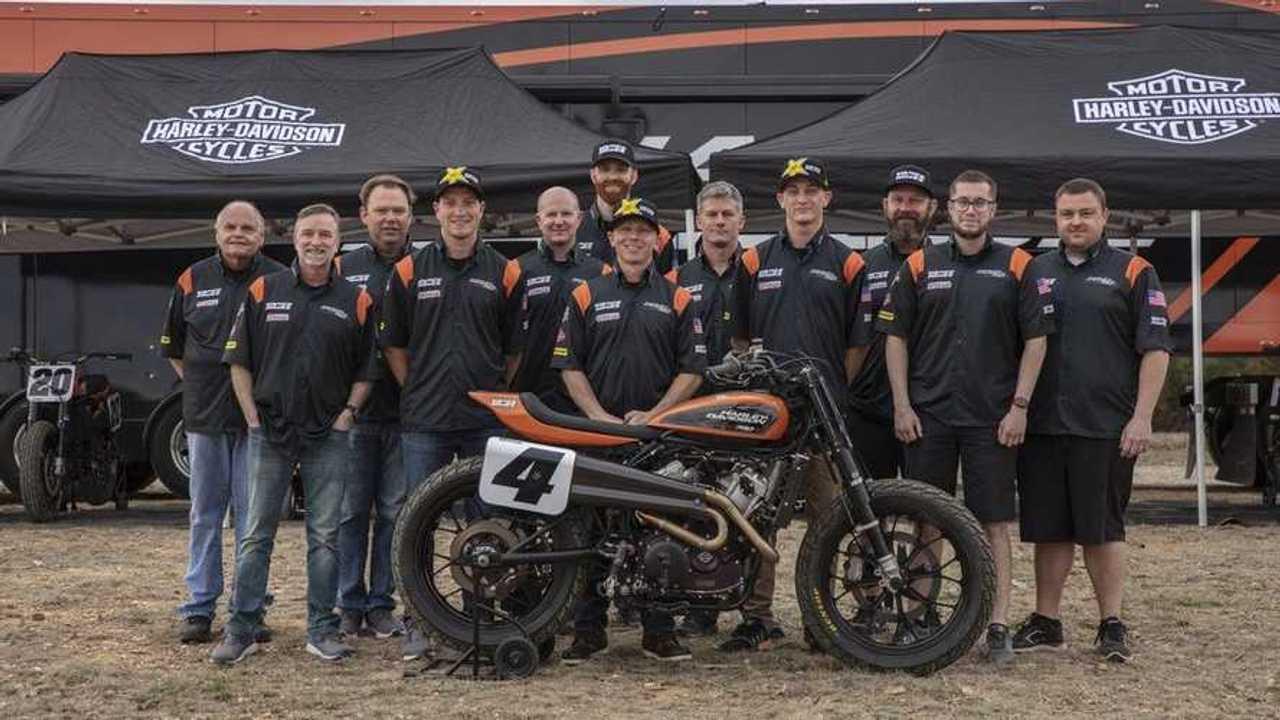 Screamin' Eagle/Vance & Hines AFT Team