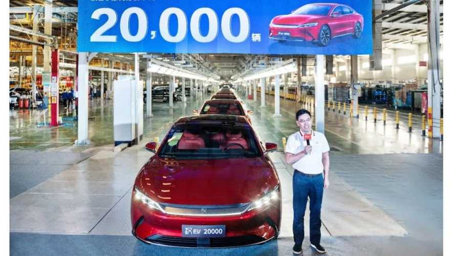 BYD Already Produced 20,000 Han With Blade Batteries