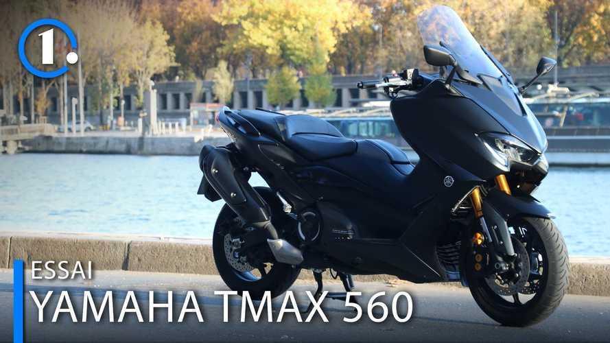 Essai Yamaha TMax 560 - Le roi des maxi-scooters prend du muscle