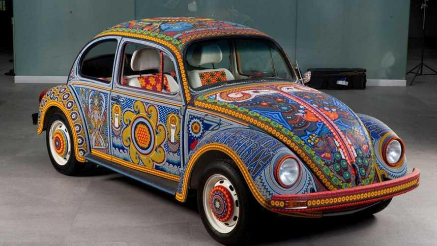 """VW Käfer """"Vochol"""" (2010): Mexikanisches Glasperlenspiel"""