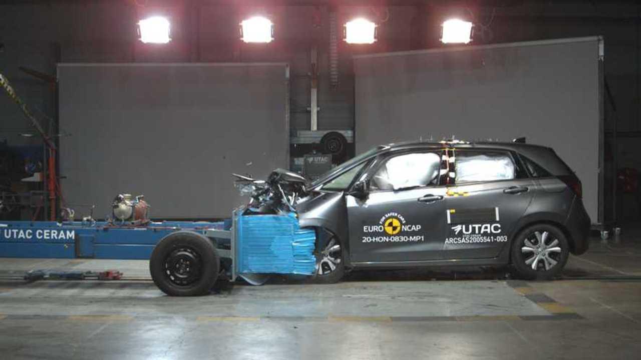 Honda Jazz, crash test Euro NCAP